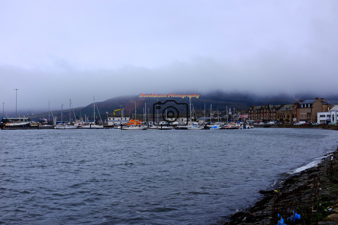 """""""Campbeltown Harbour"""" stock image"""