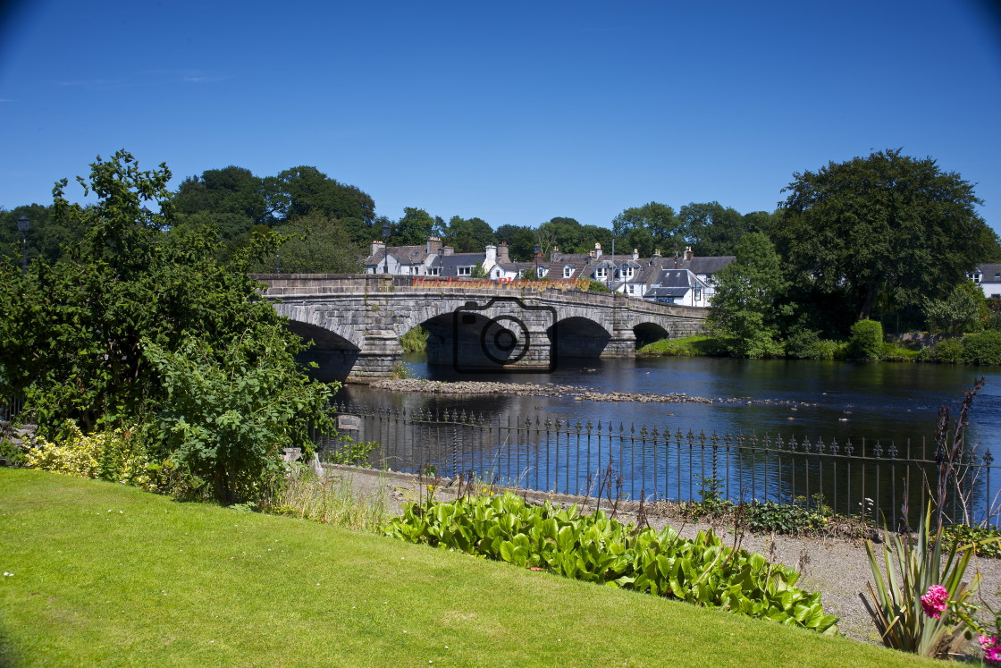 """Creebridge, Newton Stewart, Dumfries and Galloway, Scotland"" stock image"