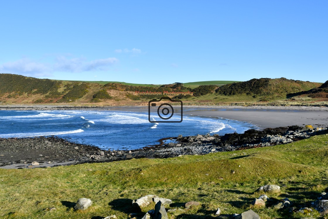 """""""Ardwell Bay Dumfries and Galloway, Scotland"""" stock image"""