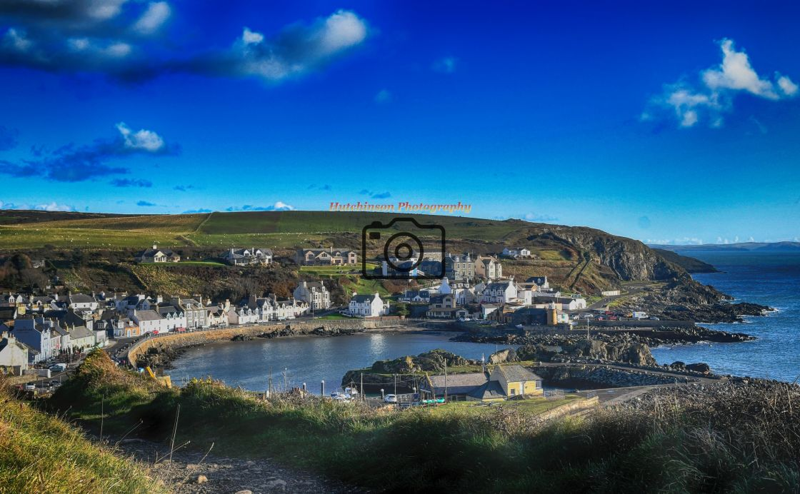 """""""Portpatrick Dumfries and Galloway, Scotland"""" stock image"""