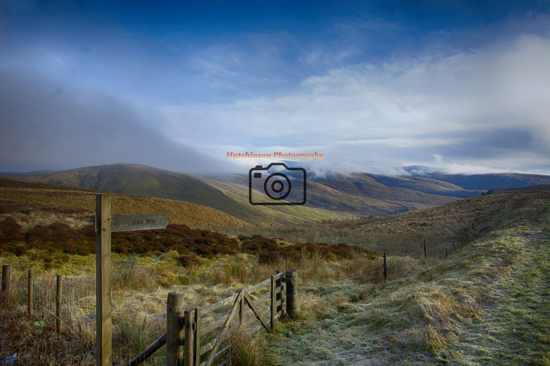 """""""Devils Beef Tub Pass Dumfries and Galloway Scotland"""" stock image"""