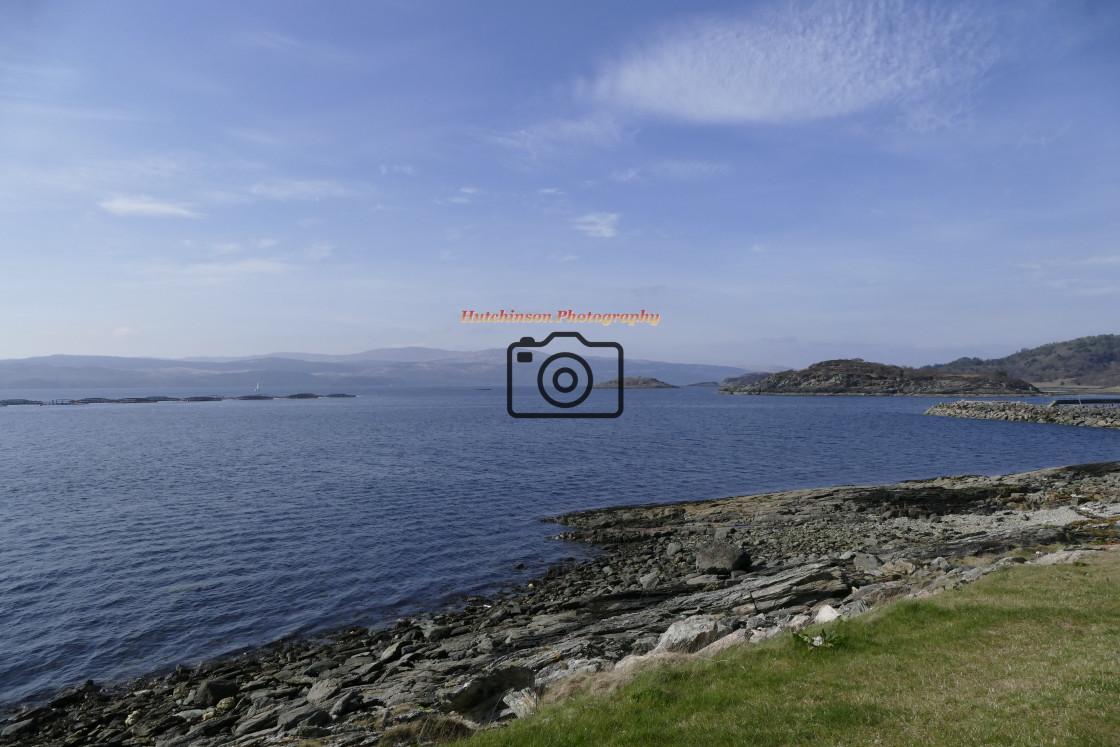 """Loch Fyne"" stock image"