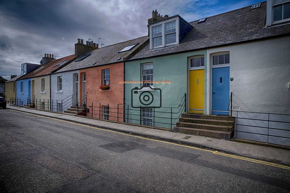 """""""Cottages"""" stock image"""