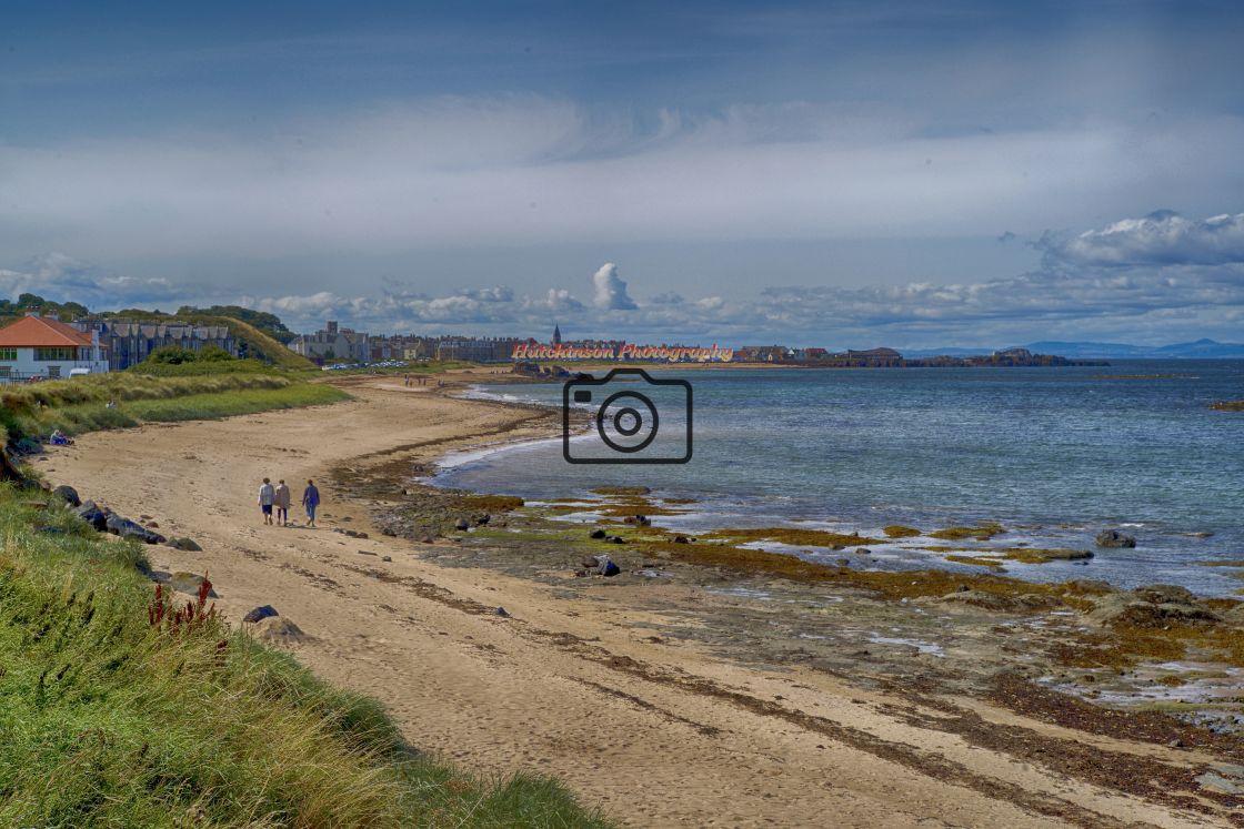 """East Bay North Berwick, Scotland"" stock image"