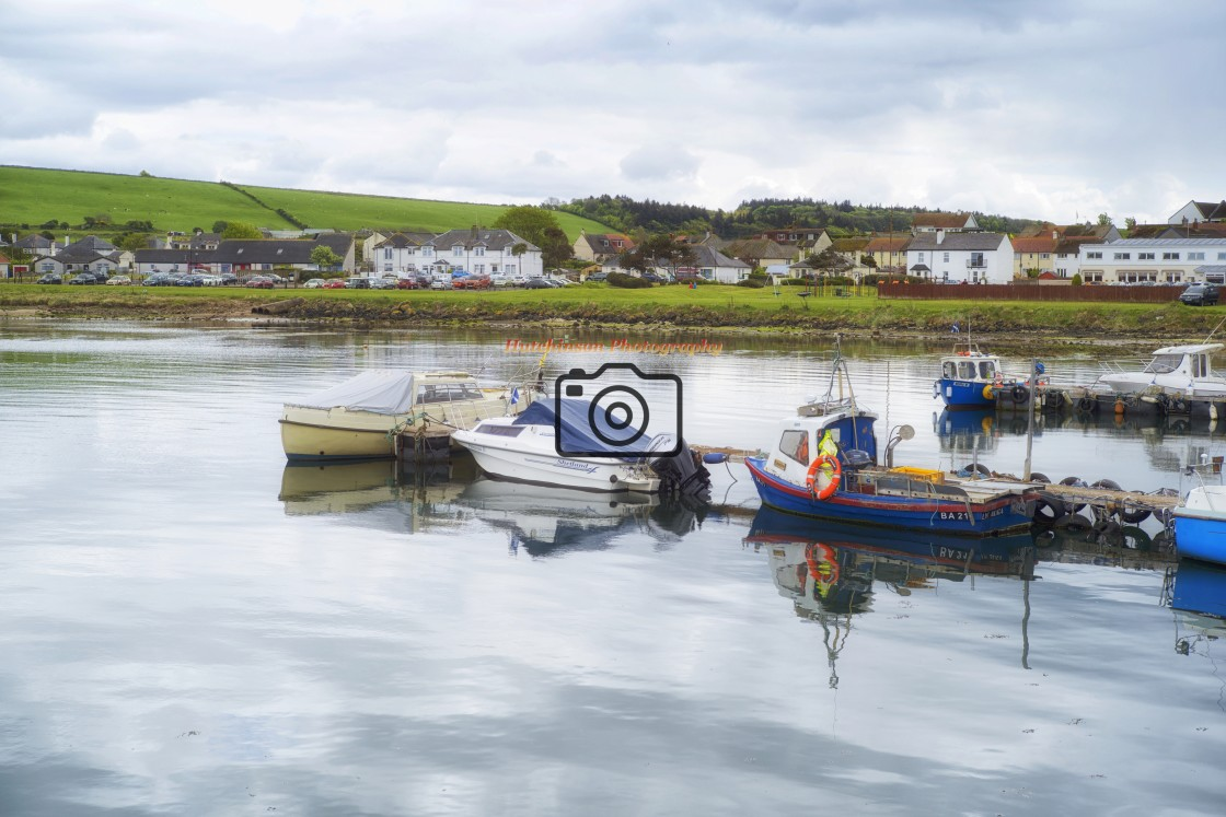 """""""Maidens Harbour"""" stock image"""
