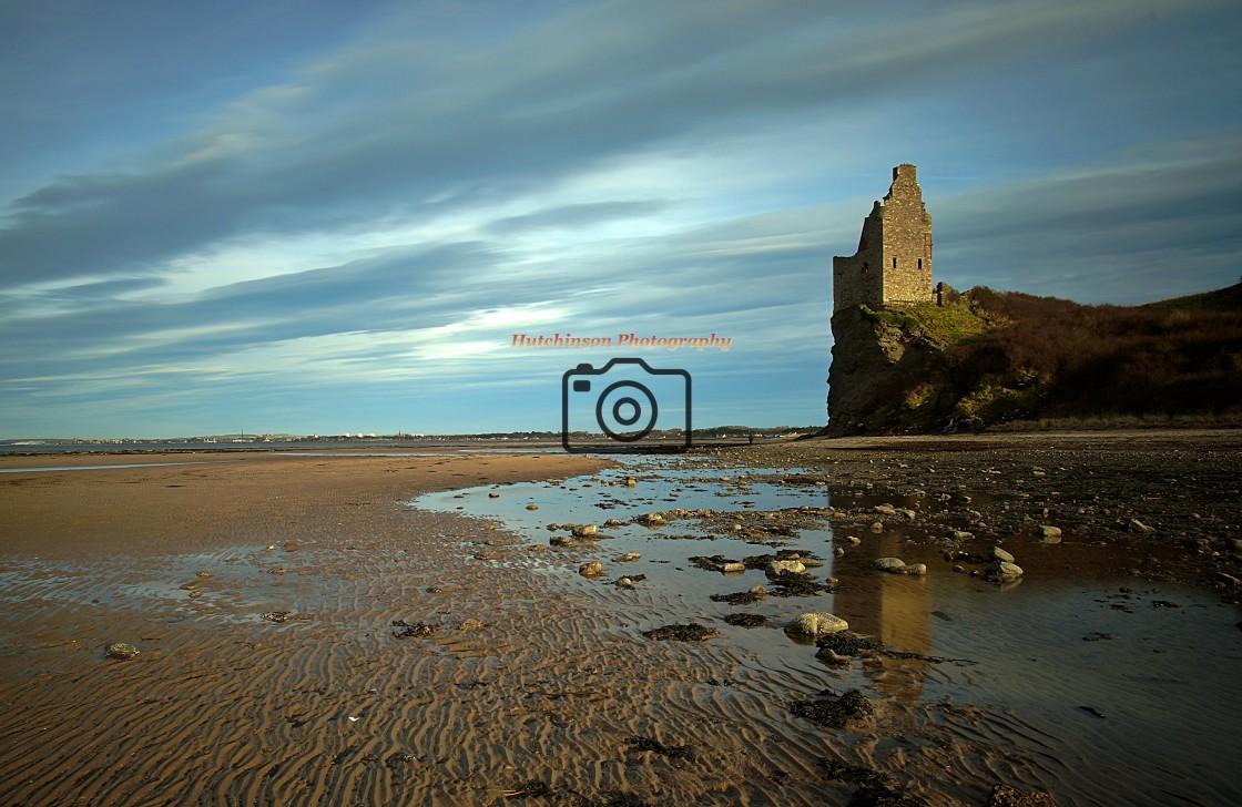 """Greenan Castle Ayr"" stock image"