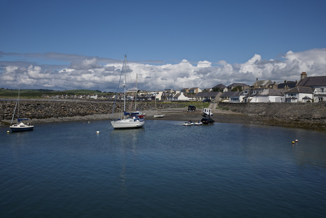 """""""Port William, Dumfries and Galloway"""" stock image"""