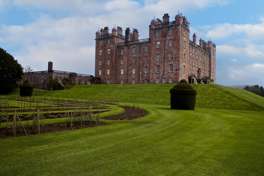 """""""Drumlanrig Castle, Dumfries and Galloway"""" stock image"""