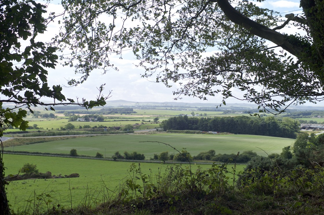 """Galloway countryside, United Kingdom."" stock image"