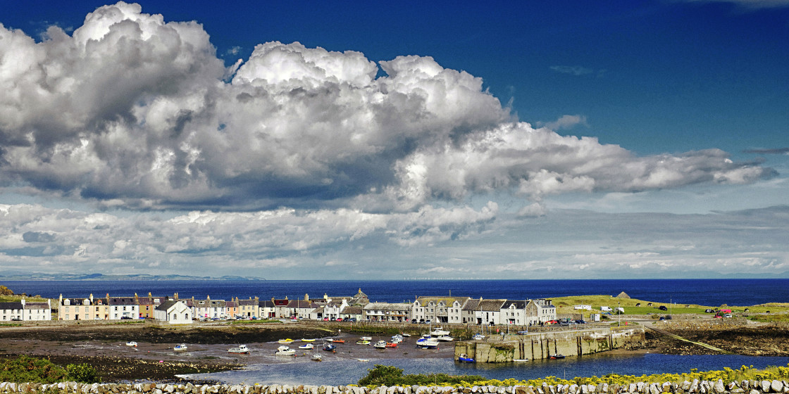 """""""Isle of Whithorn, Dumfries and Galloway"""" stock image"""