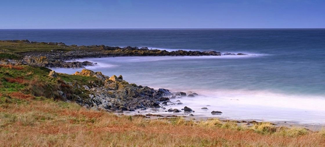 """""""Ardwell Beach Dumfries and Galloway"""" stock image"""
