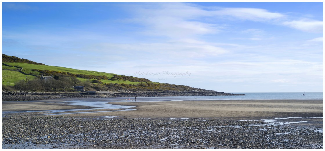 """""""Brighouse Bay Dumfries and Galloway"""" stock image"""