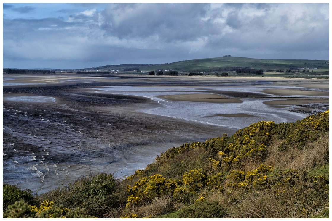 """""""Luce Bay Dumfries and Galloway"""" stock image"""