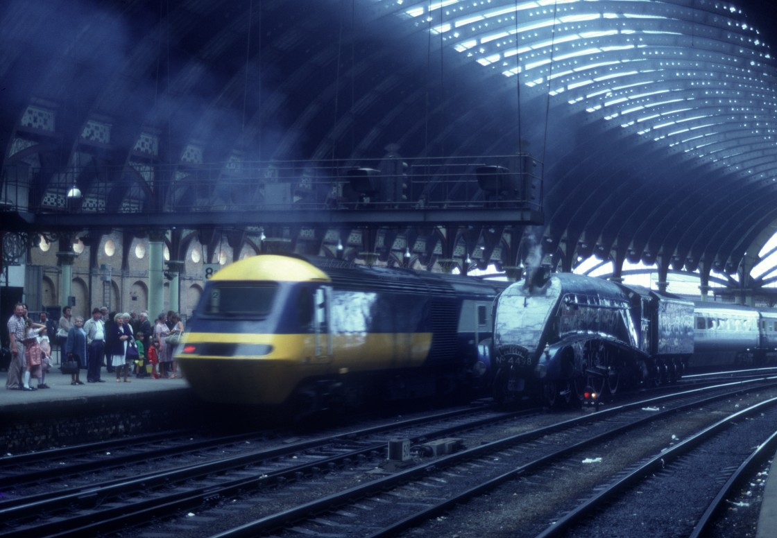 """A4 & HST"" stock image"