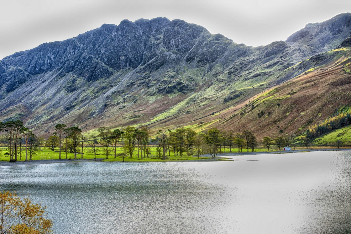 """Buttermere"" stock image"