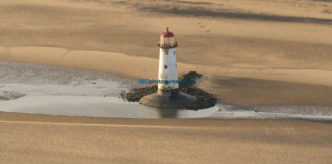 """""""Point of Ayr Lighthouse 200919 1"""" stock image"""