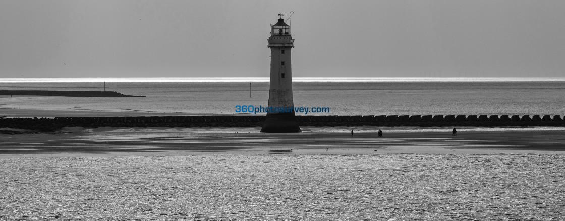 """New Brighton Lighthouse 190422"" stock image"