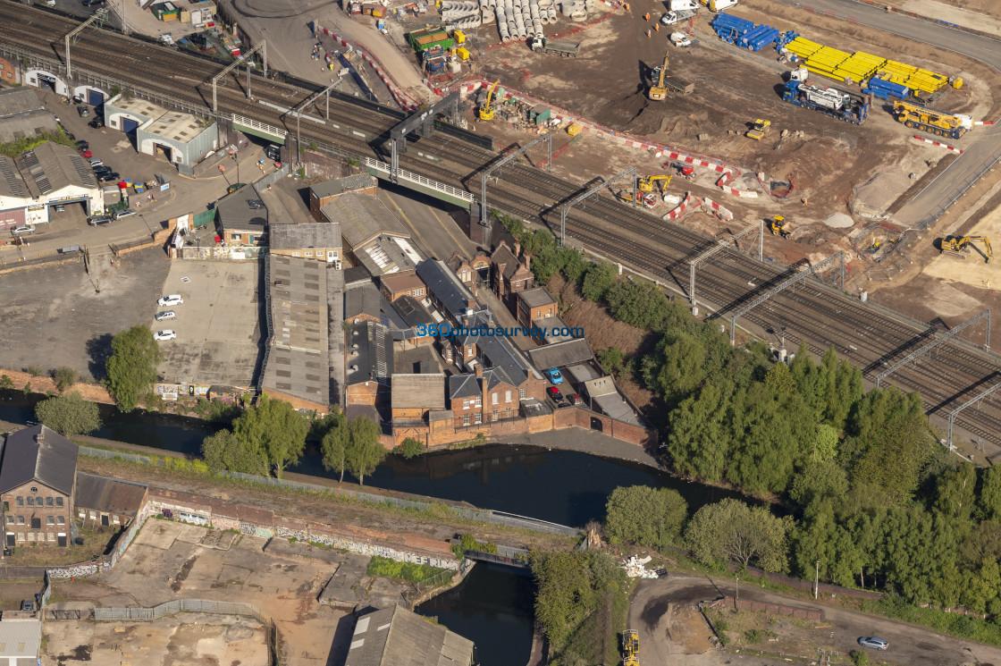 """""""Aerial photo Birmingham 210507 15"""" stock image"""