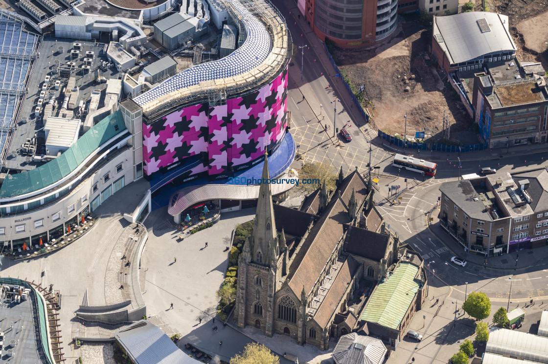 """""""Aerial photo Birmingham 210507 16"""" stock image"""