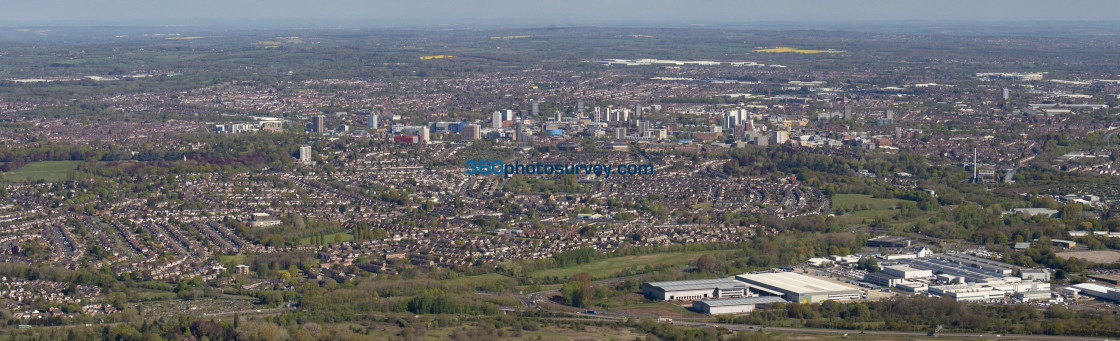 """""""Coventry Aerial Photo 210507 22"""" stock image"""