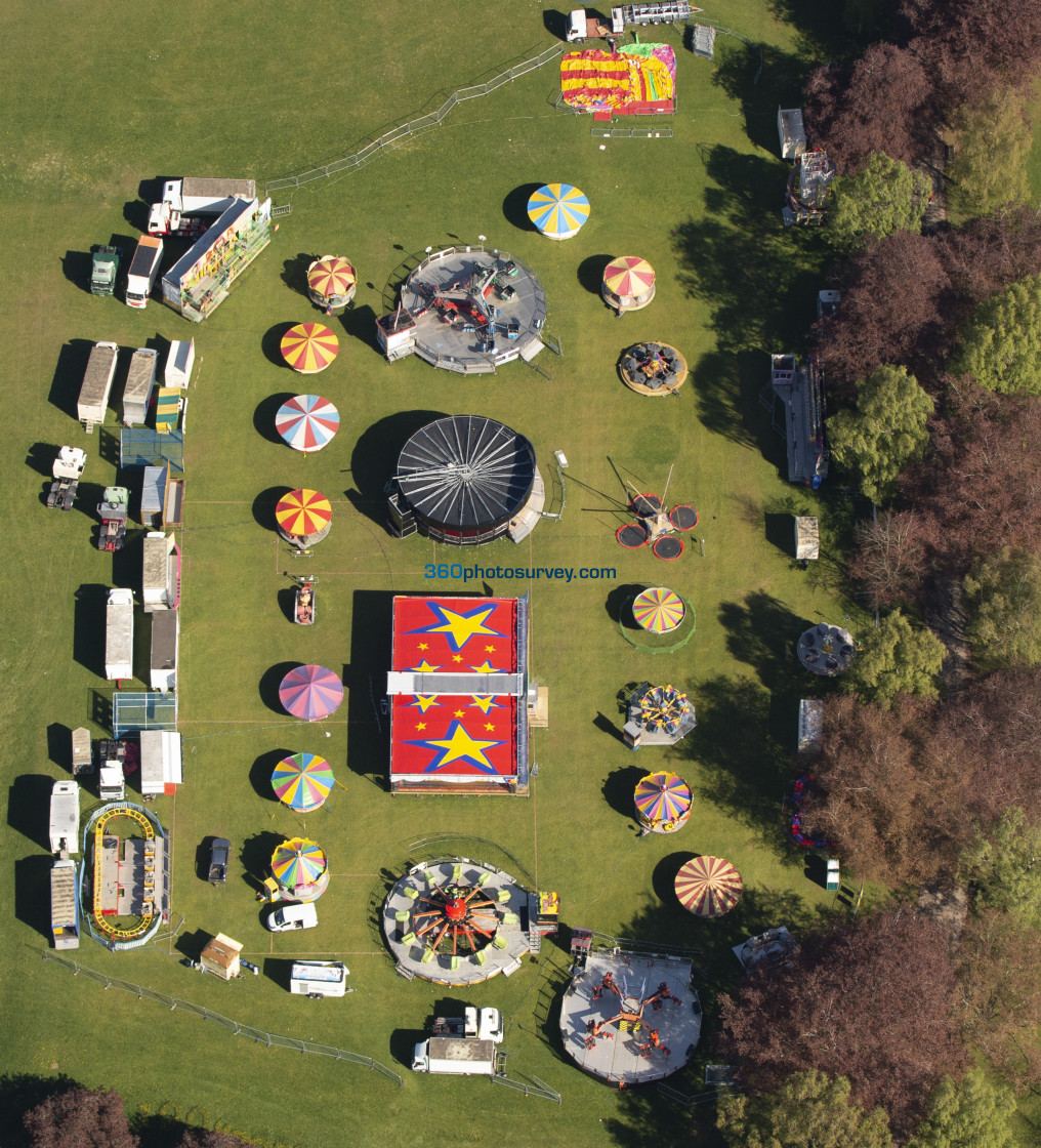 """""""Coventry Fair aerial photo 210507 25"""" stock image"""