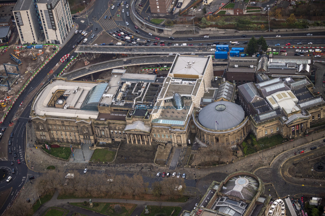 """Liverpool Aerial Photo"" stock image"