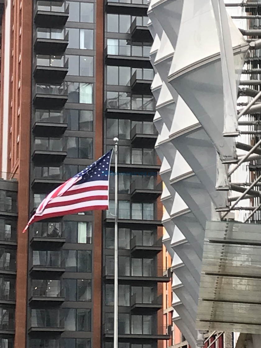 """""""Stars and Stripes London"""" stock image"""