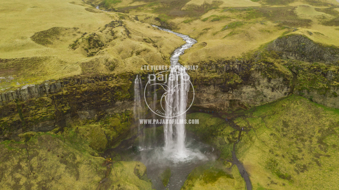 """Seljalandsfoss, Iceland"" stock image"