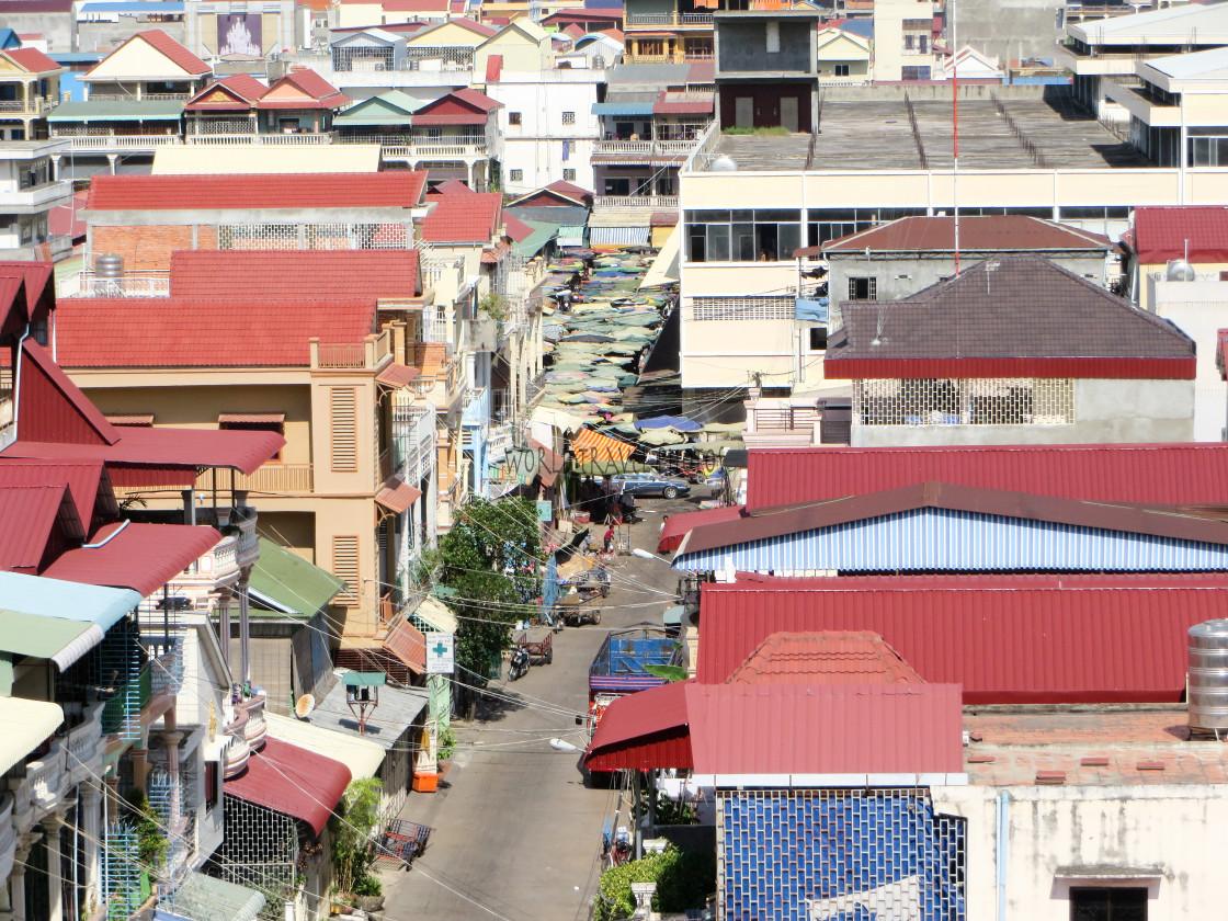 """Phnom Phen City"" stock image"
