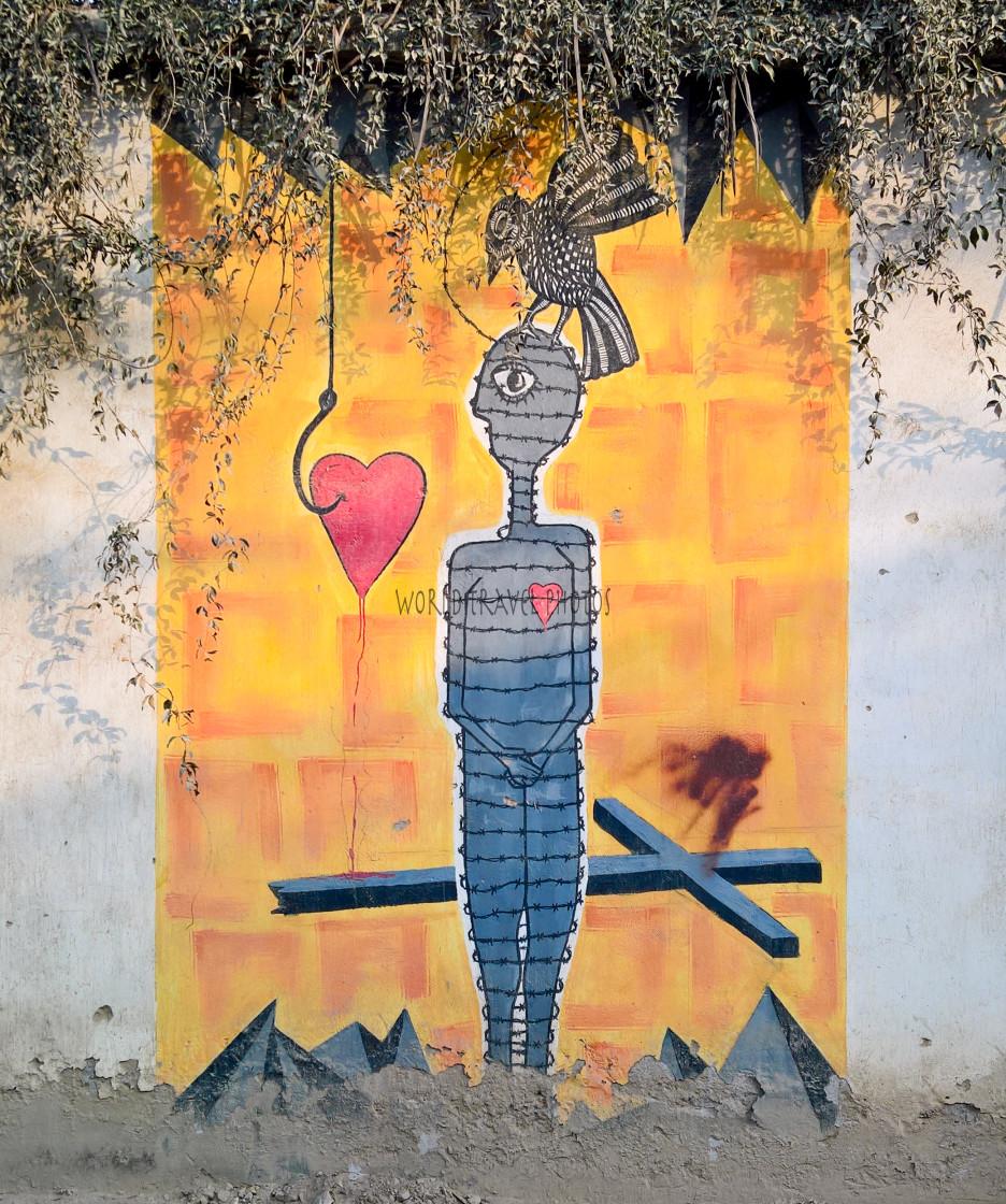 """""""Graffiti and Wall Art"""" stock image"""