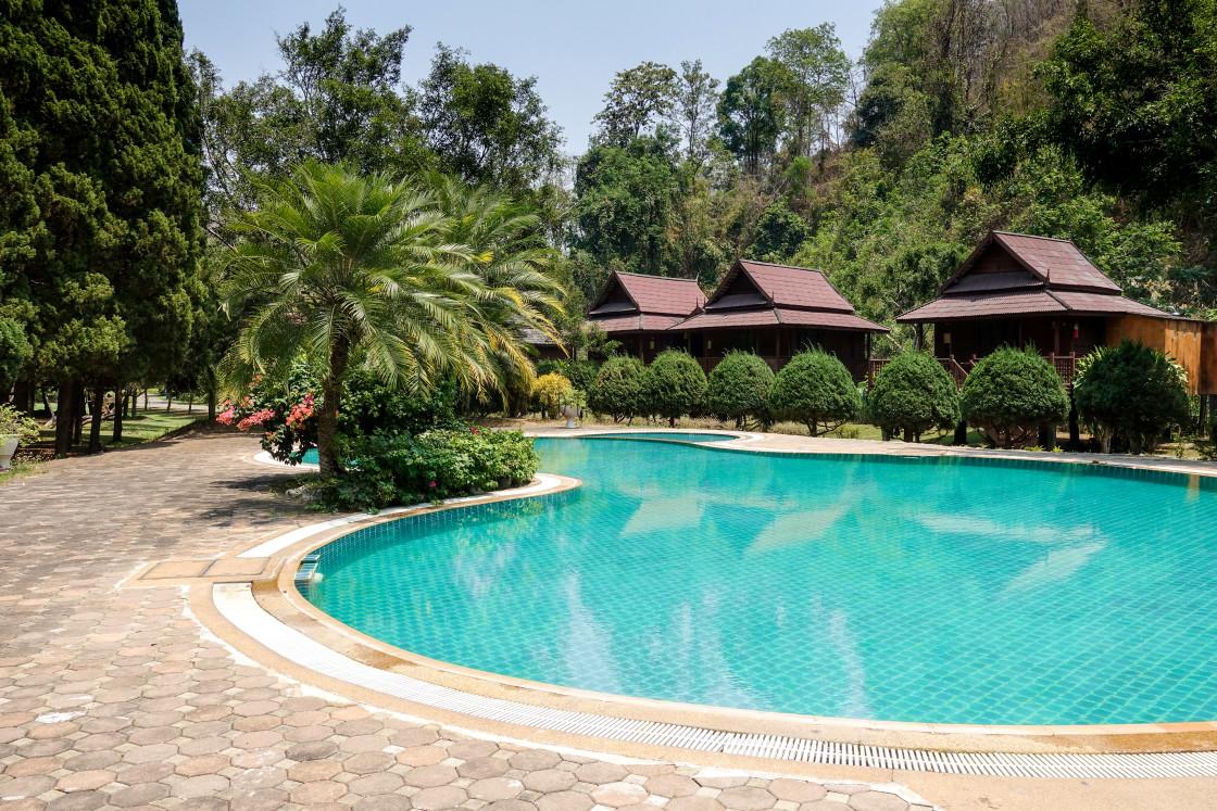 """Resort Swimming Pool"" stock image"
