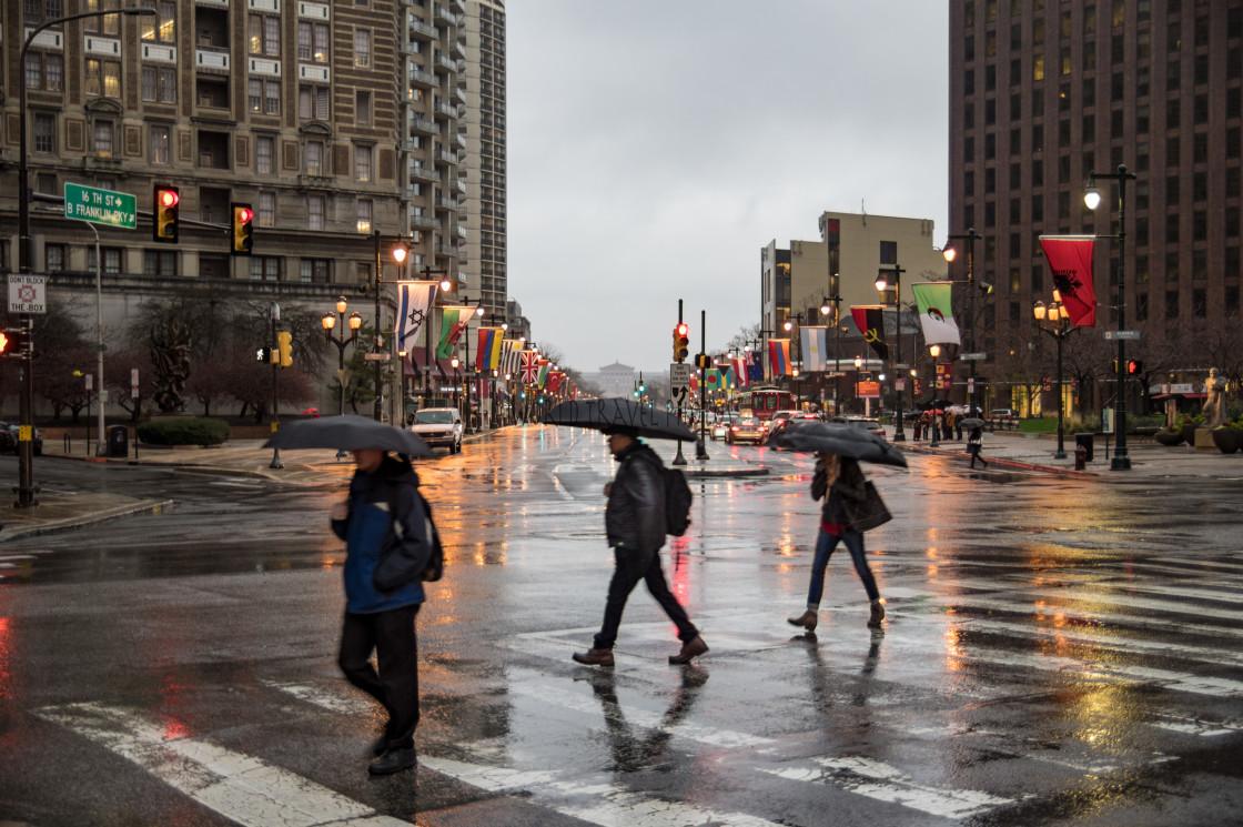 """Downtown Philadelphia"" stock image"