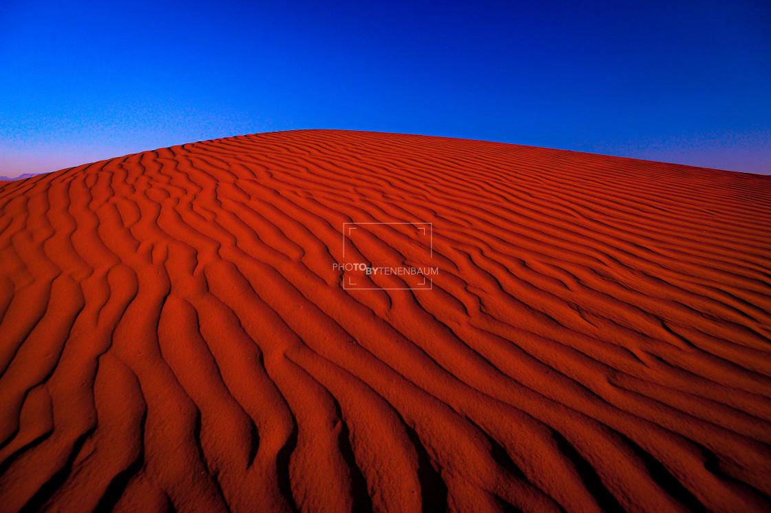 """Sahara Red"" stock image"