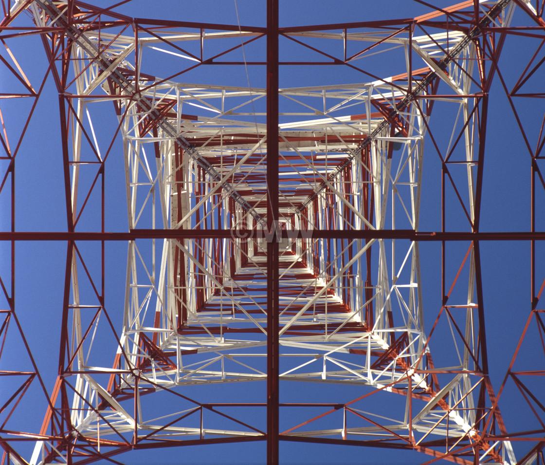 """TV transmitter"" stock image"