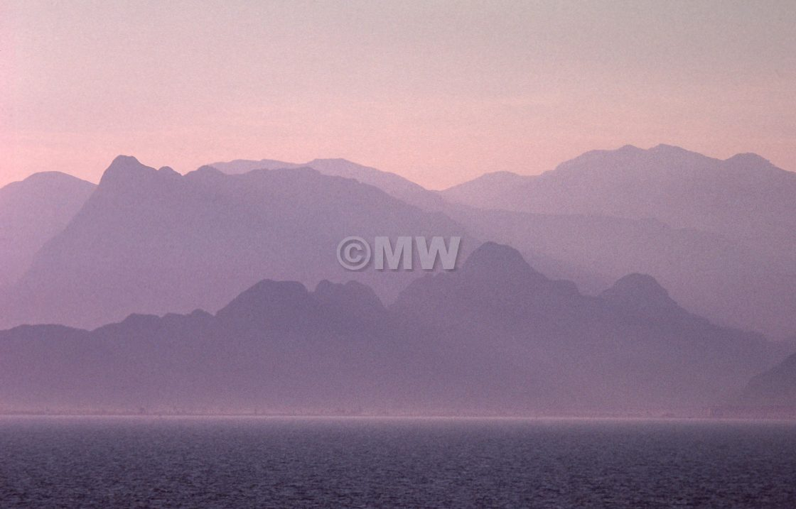 """Turkish Mountains"" stock image"