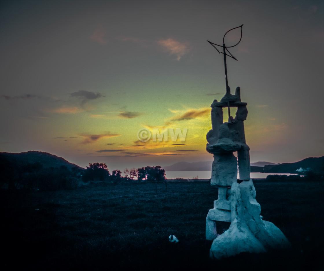 """Milopotas Sunset,"" stock image"