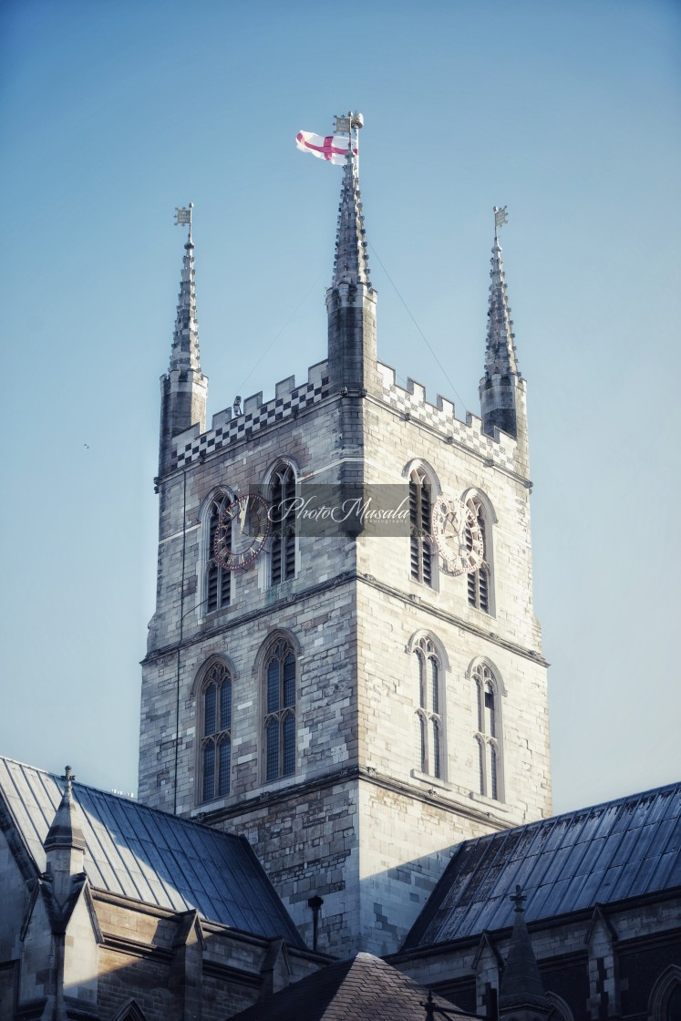 """""""Southwark Cathedral, London"""" stock image"""