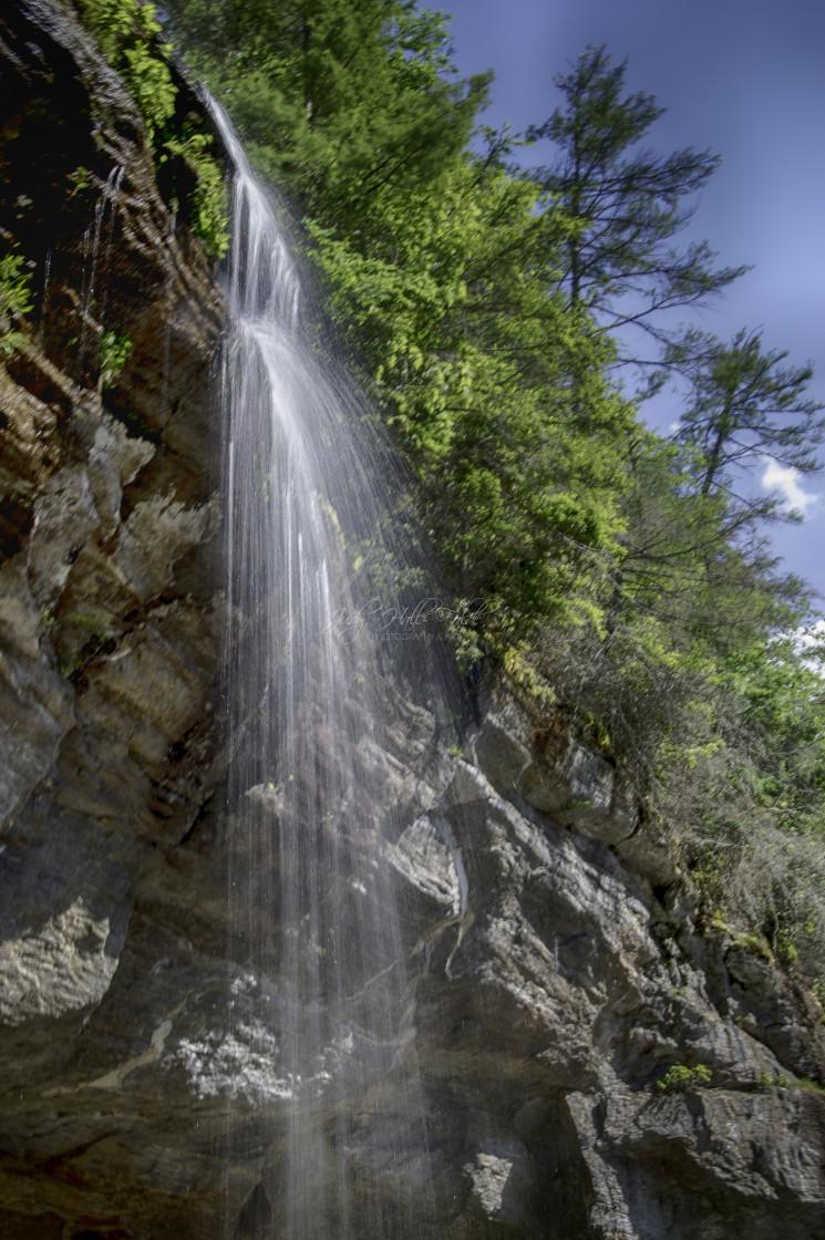 """Bridal Veil Waterfall"" stock image"