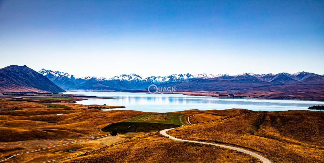 """""""Lake Tekapo"""" stock image"""