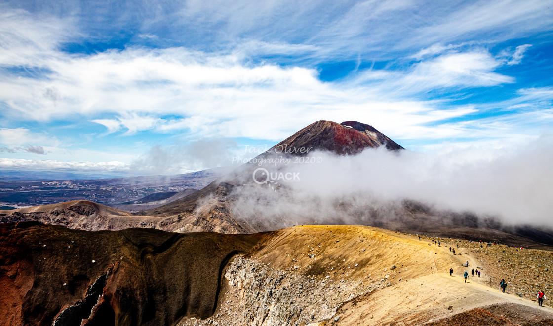 """""""Mt Ngauruhoe"""" stock image"""