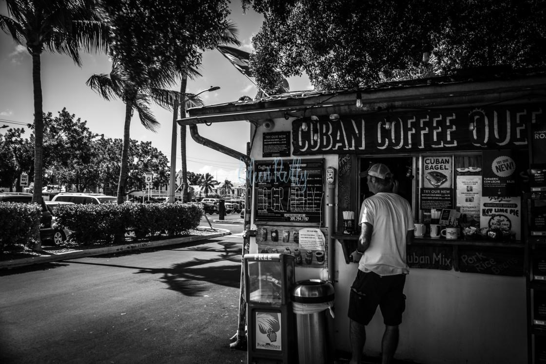 """""""Cuban coffee"""" stock image"""