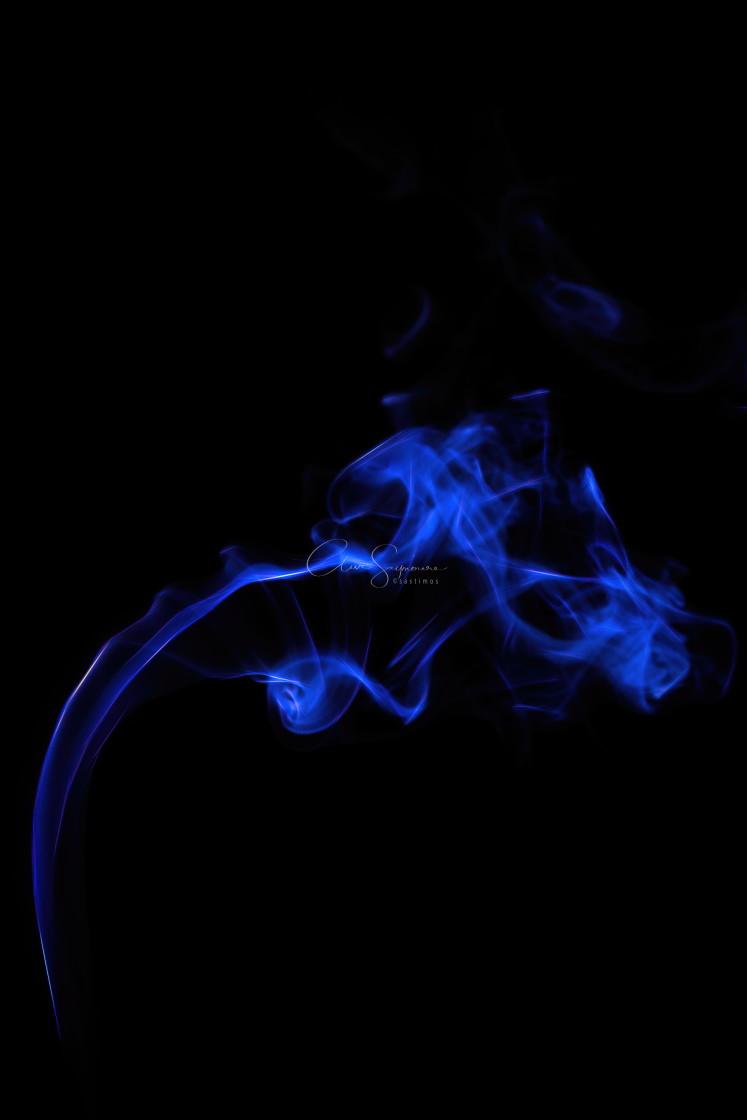 """Smoke abstract nos.1"" stock image"