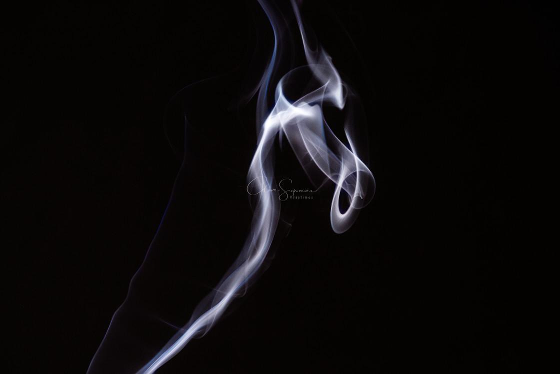 """Smoke abstract nos. 4"" stock image"