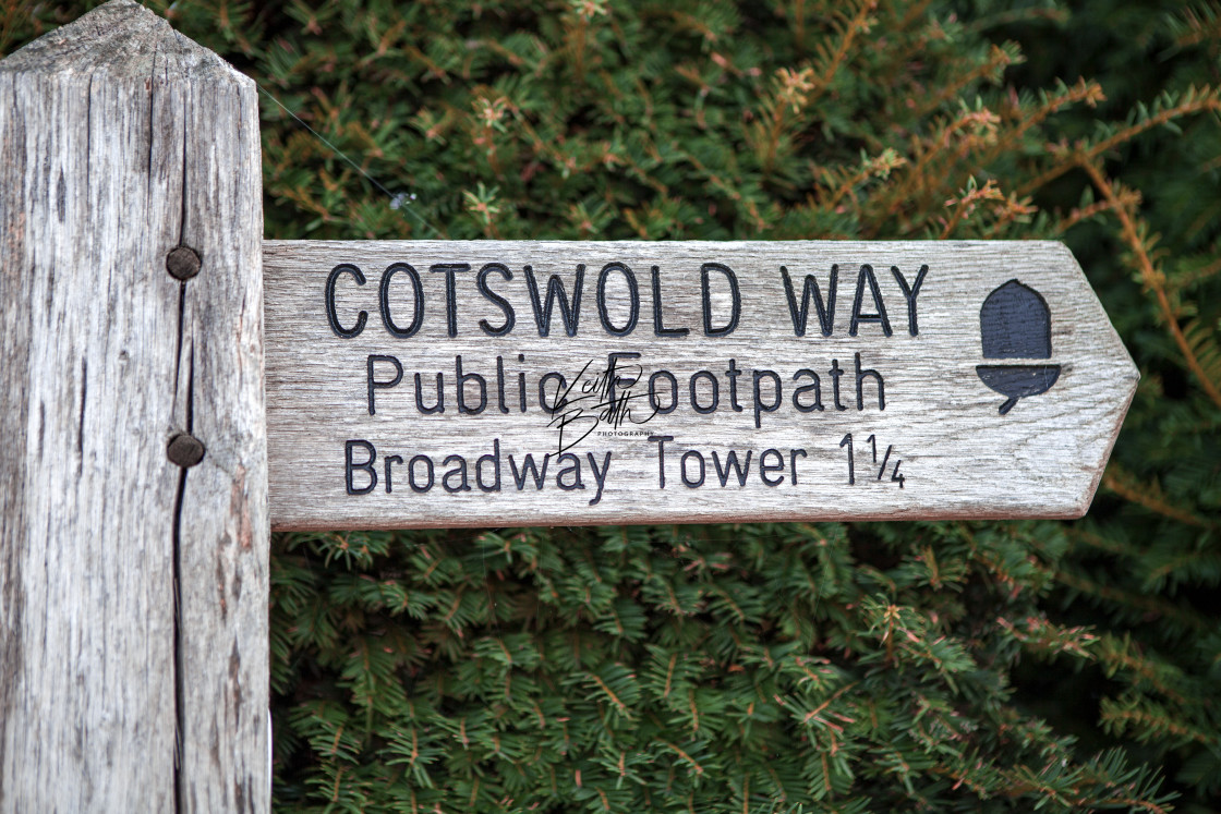 """Cotswold Way"" stock image"