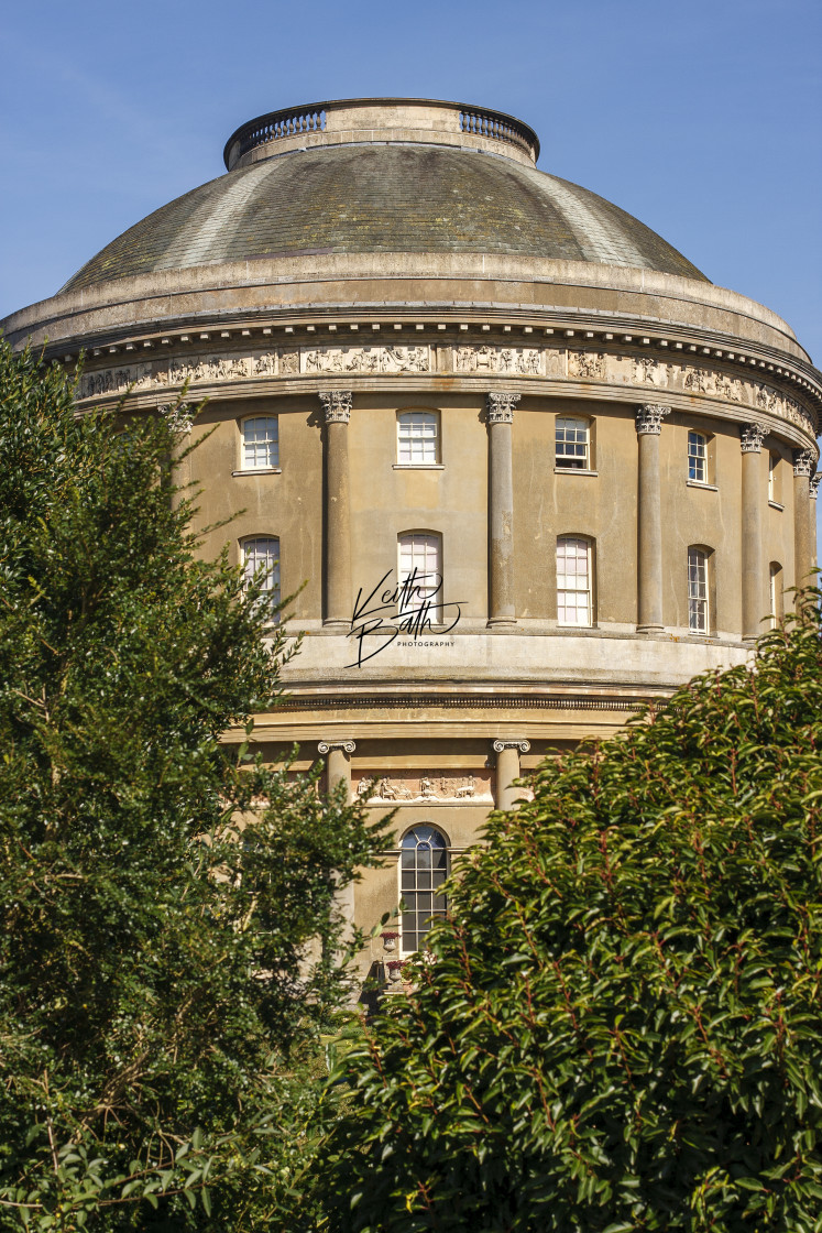 """The Rotunda Ickworth House"" stock image"