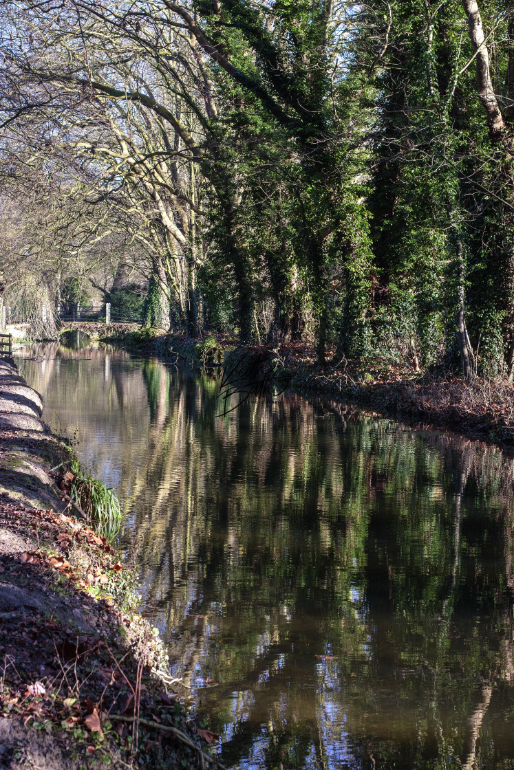 """Anglesey Abbey & Lode Mill"" stock image"
