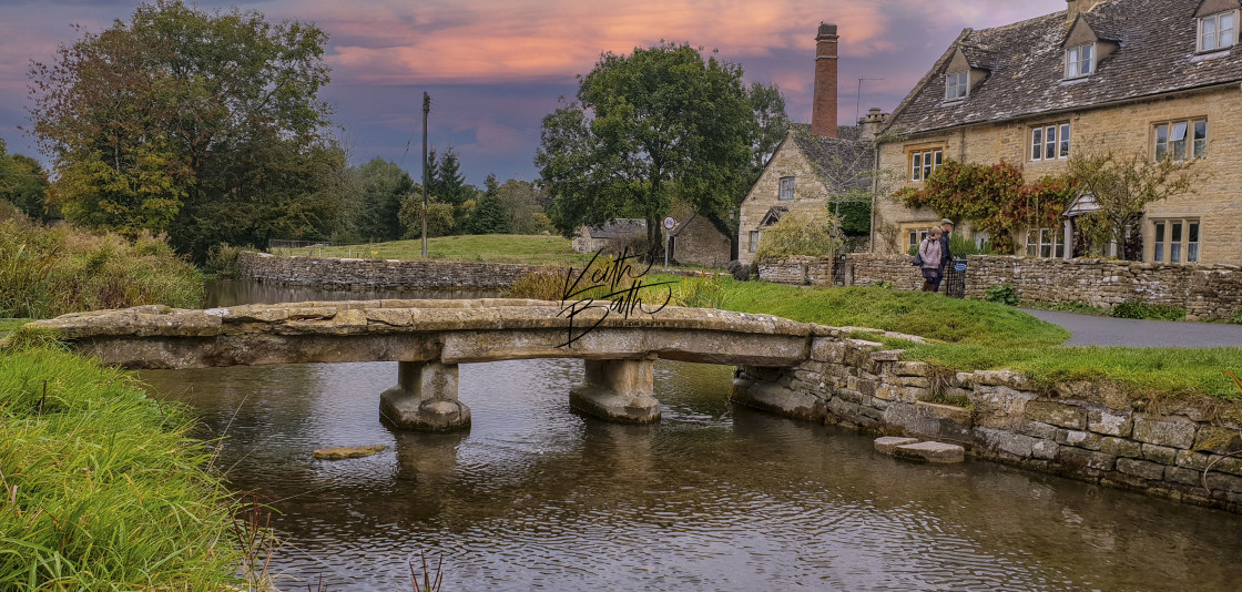 """Cotswolds village"" stock image"