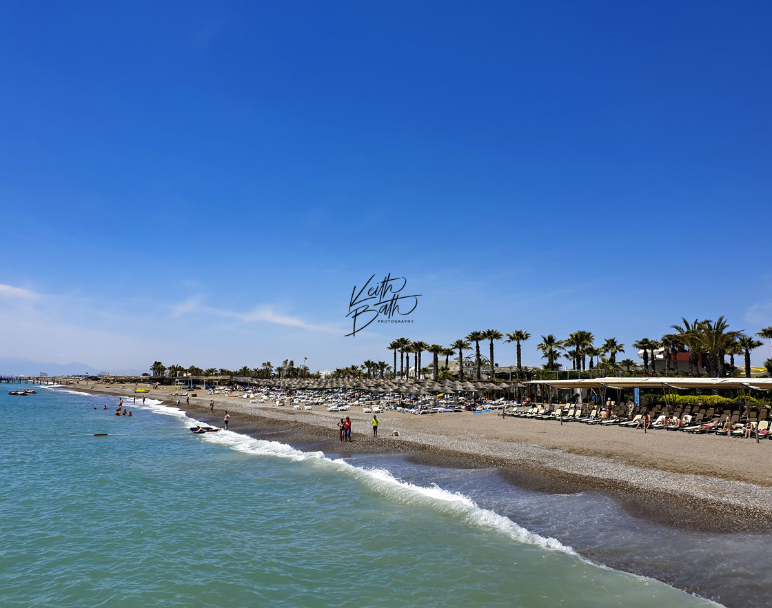 """Antalya beach, Turkey"" stock image"