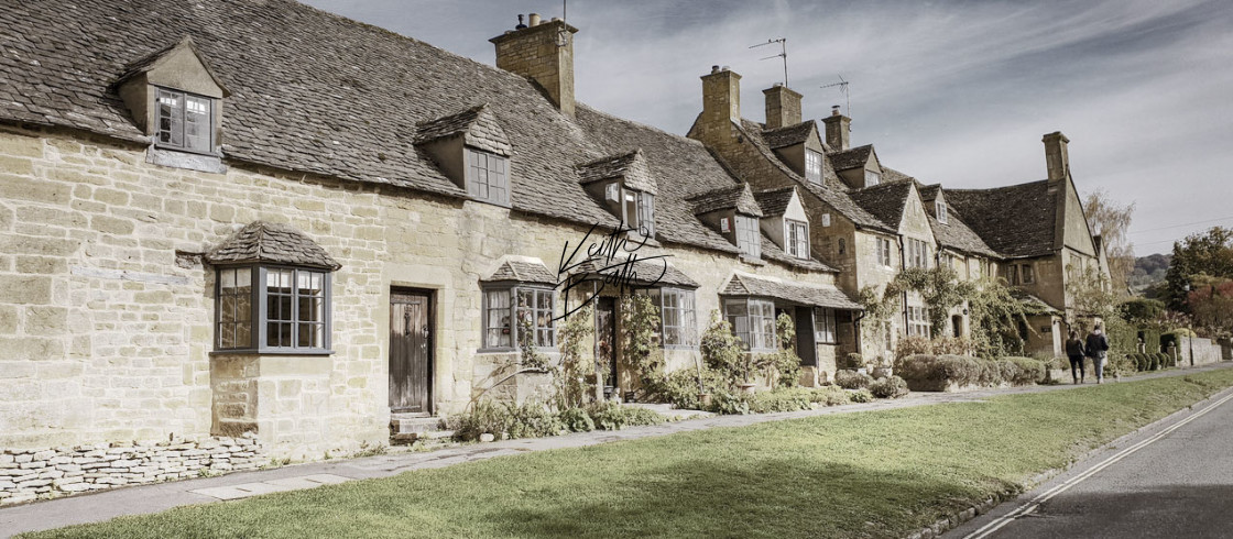 """""""Broadway, Cotswolds"""" stock image"""
