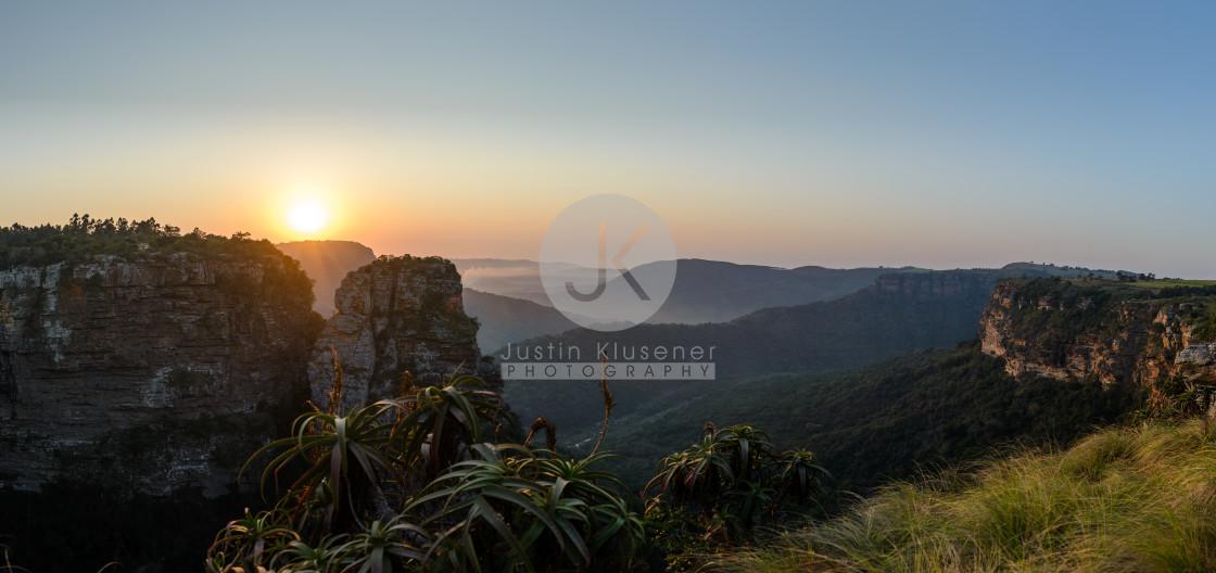 """""""Oribi Sunrise"""" stock image"""